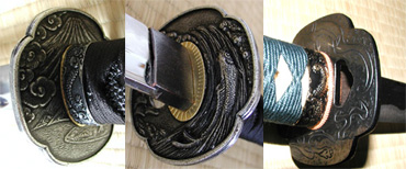 Tsuba of Japanese ready-made Iaito swords-2